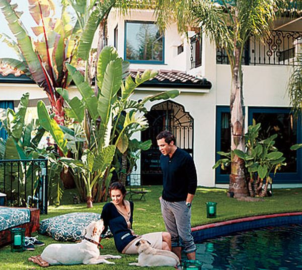 Jessica Alba's LA Home