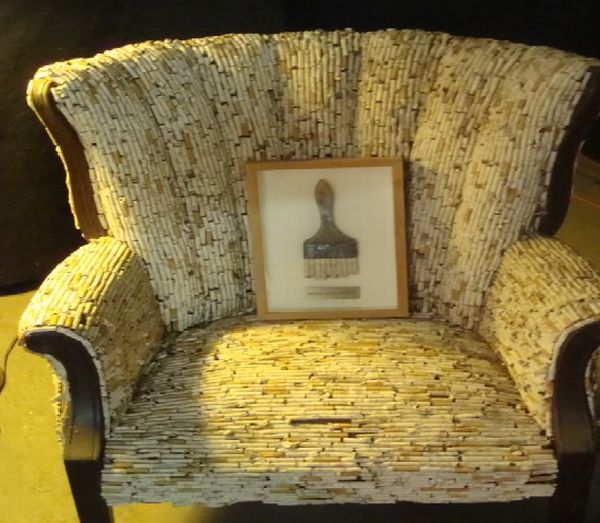 John Runnels cigarette chair