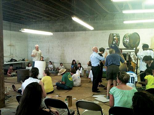 junkyard museum donald knaack recycled music instr