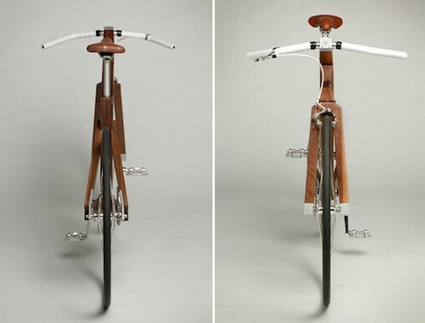 Lagomorph Design's Black Walnut bike 3