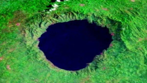 Lake Bosumtwi Crater