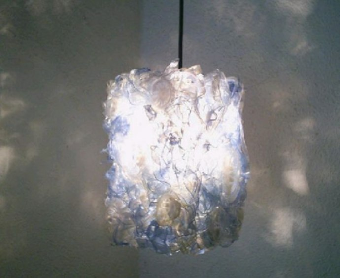 LIGHT Made from Recycled Plastic Bottles