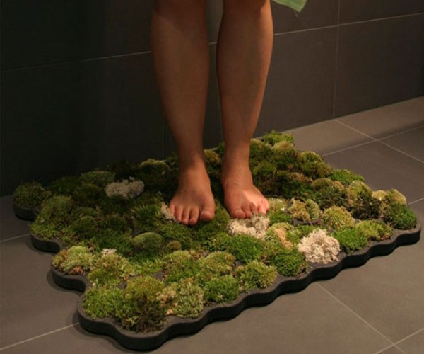 Living Moss Bath Mat