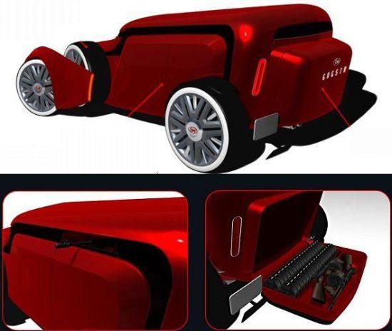 lm gngstr biofuel powered concept car 3
