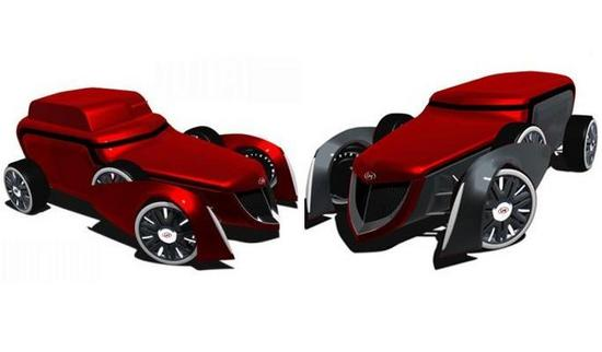 lm gngstr biofuel powered concept car 4
