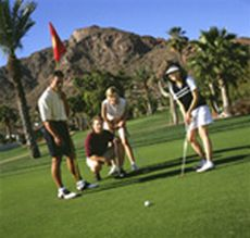 lush green golf course in northeast phoenix
