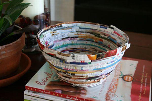 Magazine bowl
