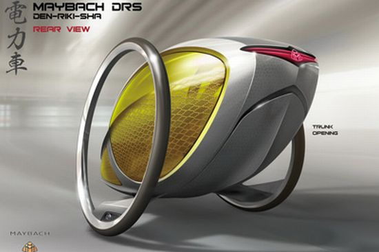 maybach drs human electric hybrid 2