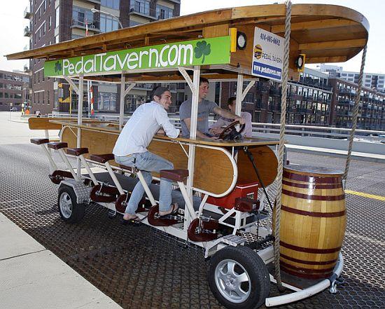 milwaukee pedal tavern