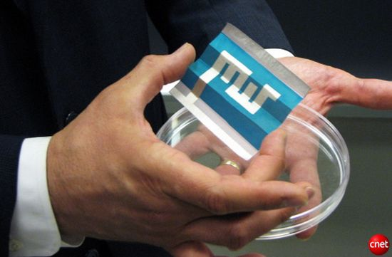 mit semiconductor coated paper