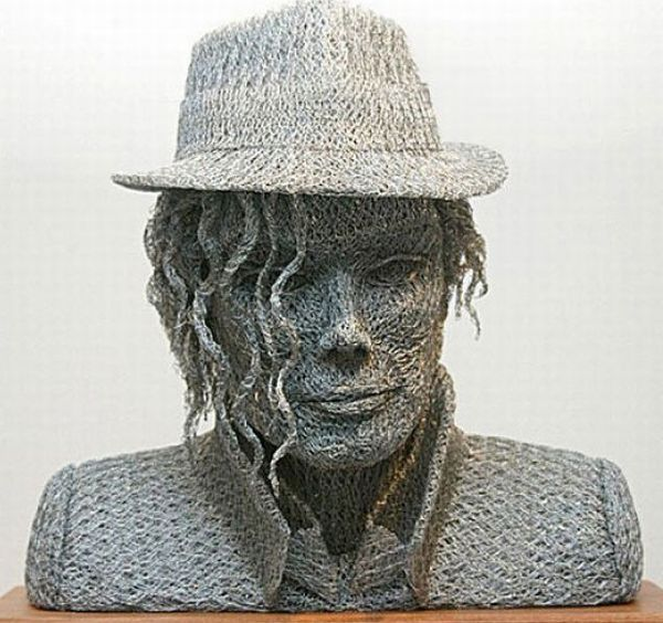 MJ Art Wire Sculpture
