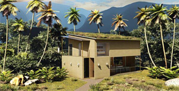 Modular Bamboo Home