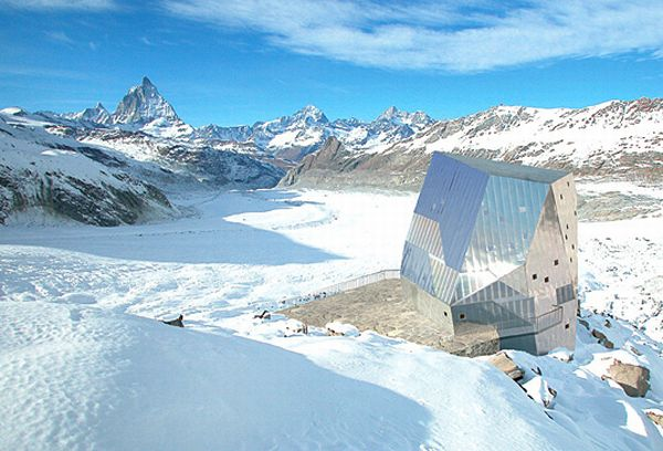 Monte Rosa Alpine Hut