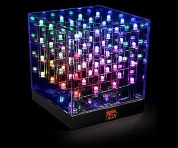 Multicolored LED Cube