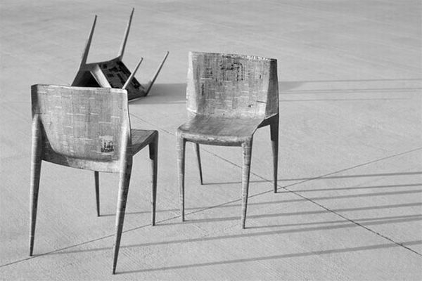 Newspaper Chairs
