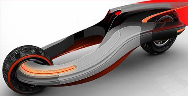 Nicholas' futuristic Concept Vehicle