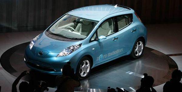 Nissan's Leaf electric car