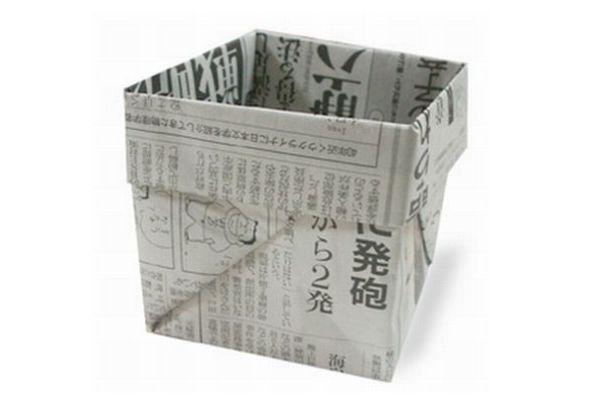 Origami Bin