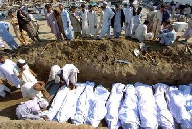 pakistani earthquake victims