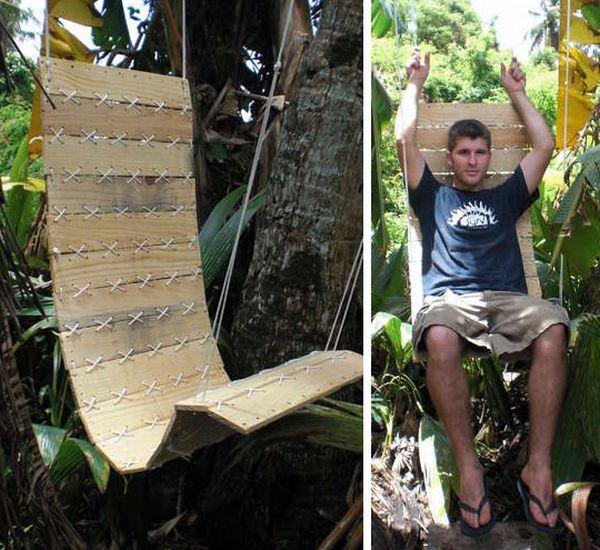 pallet outdoor chair 1