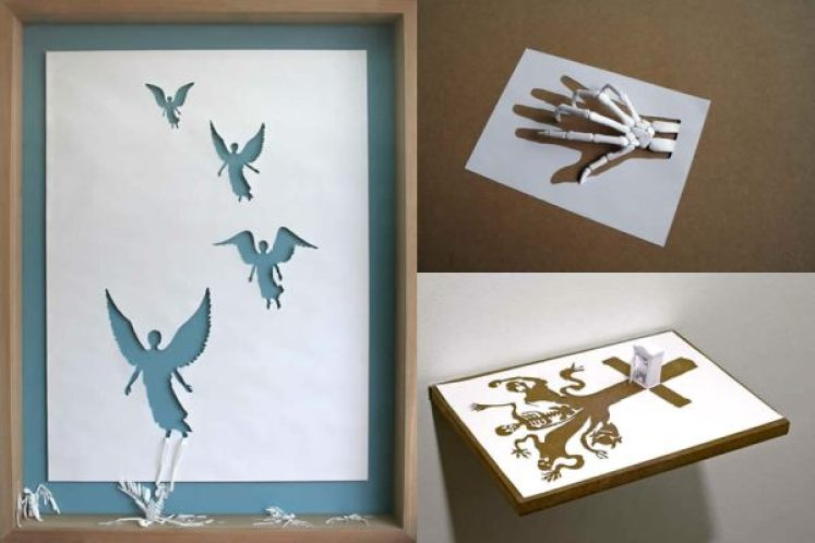Paper Cut Sculptures