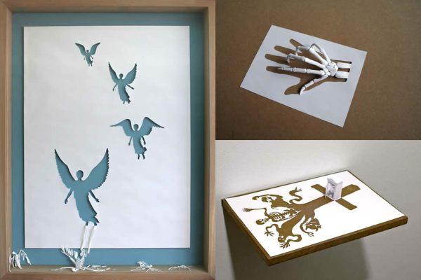 Paper Cut Sculptures