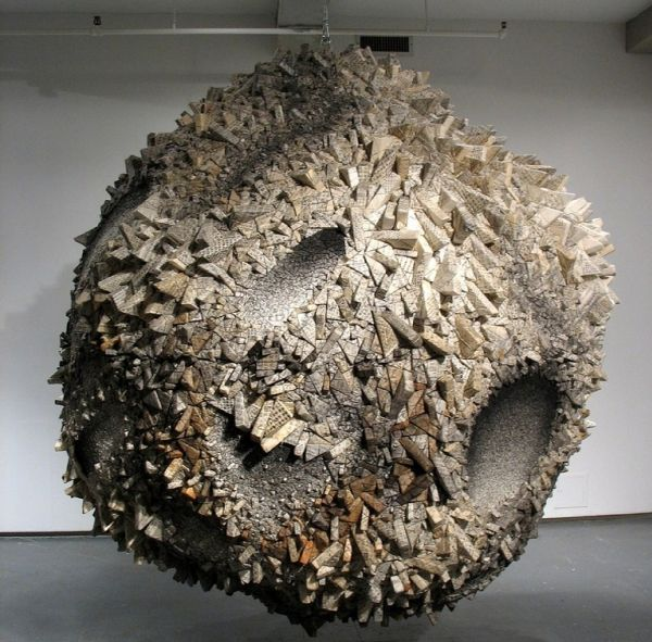 Paper Sculptures by Chun Kwang Young