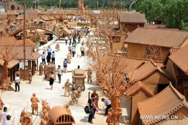 Park Made Entirely Out of Clay 1