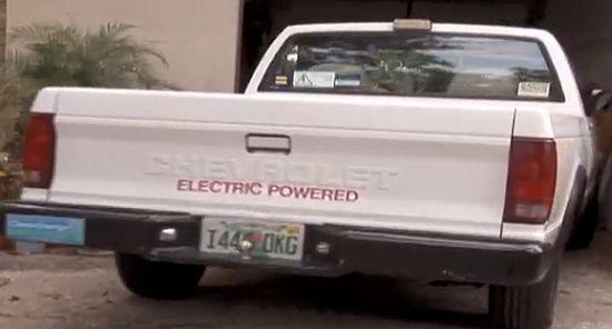 patrick vanderwyden electric chevrolet pickup truc
