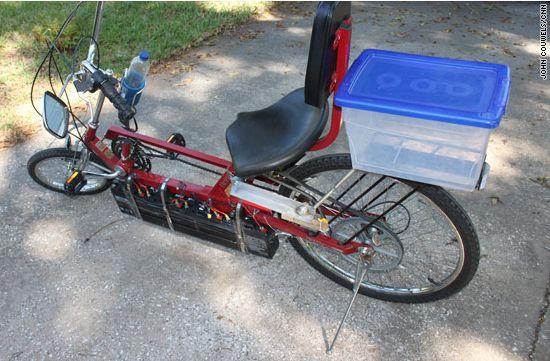 patrick vanderwyden solar electric bike