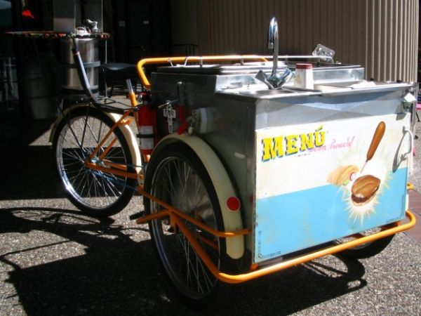 pedal powered food cart 1