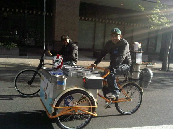 pedal powered food cart 2