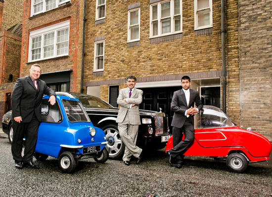 peel p 50 worlds smallest car