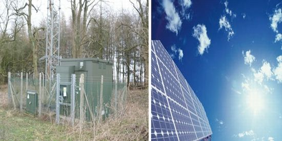 pike research cell phone base stations go green
