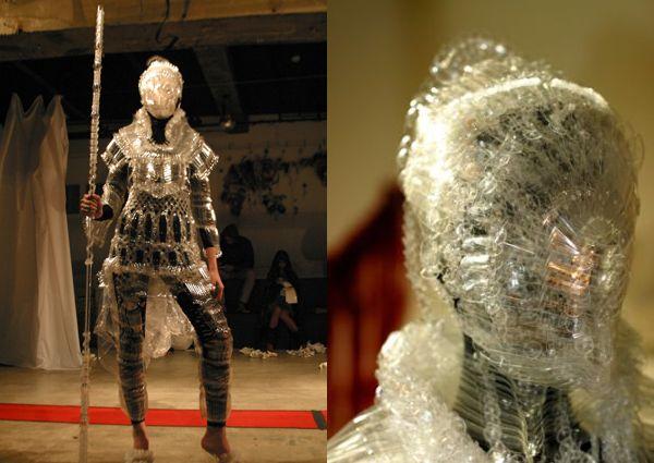 Plastic Bottle Armor Suit