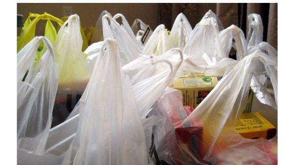 Plastic grocery bags reuses