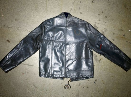 platinum road recycled leather jacket 5