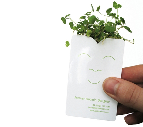 Pot business card