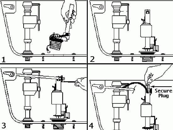 power flush valve 1