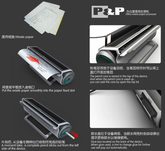 pp office waste paper processor 4