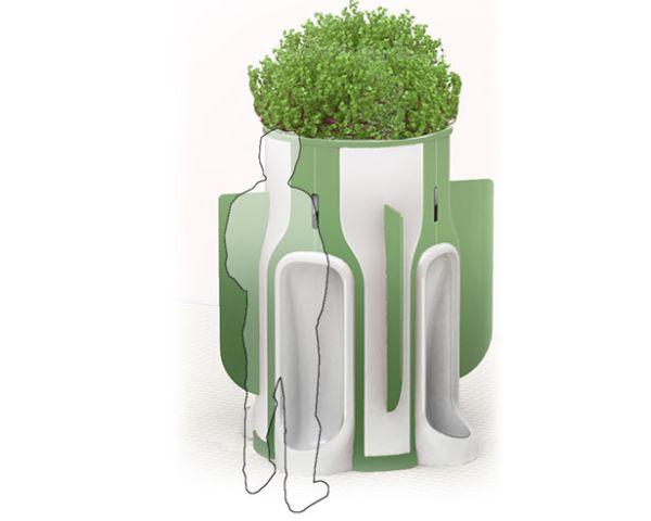 Public Toilet Design by Eddie Gandelman 1