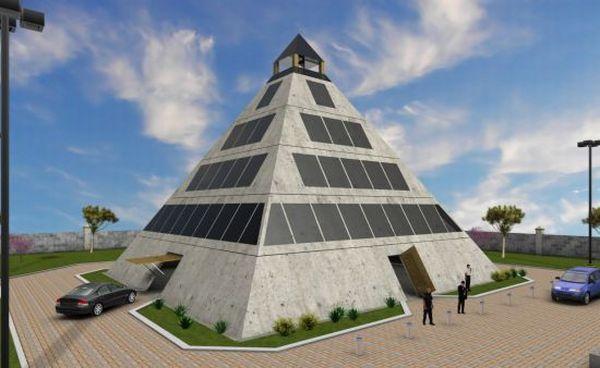 Pyramid home