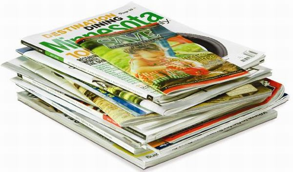 Five Creative Ways To Recycle Read Magazines Green Diary Green