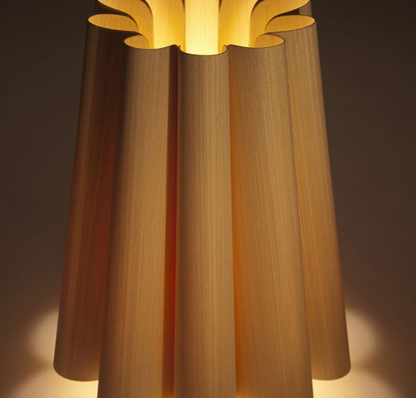 Real Wood Table Lamp
