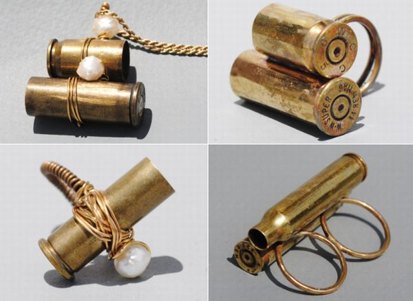 recycled bullet jewelry 1