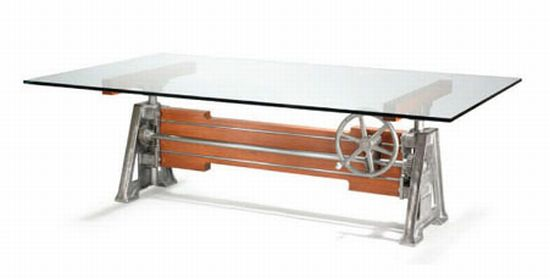 recycled factory machinery furniture 1