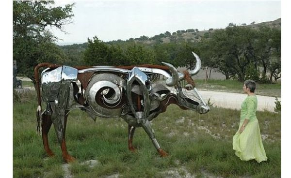 Recycled bull
