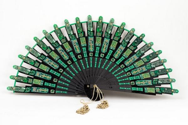 Recycled Circuit Board Fan