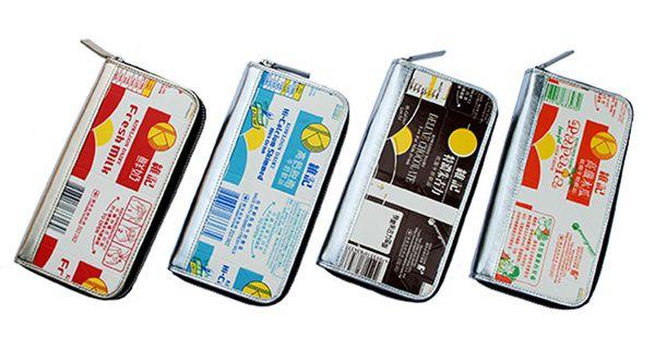 Recycled Milk Carton Wallet