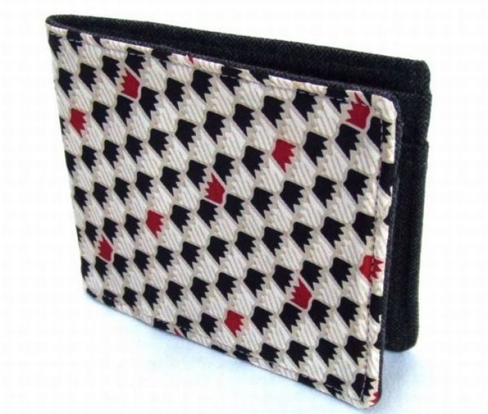 Recycled Necktie Wallet